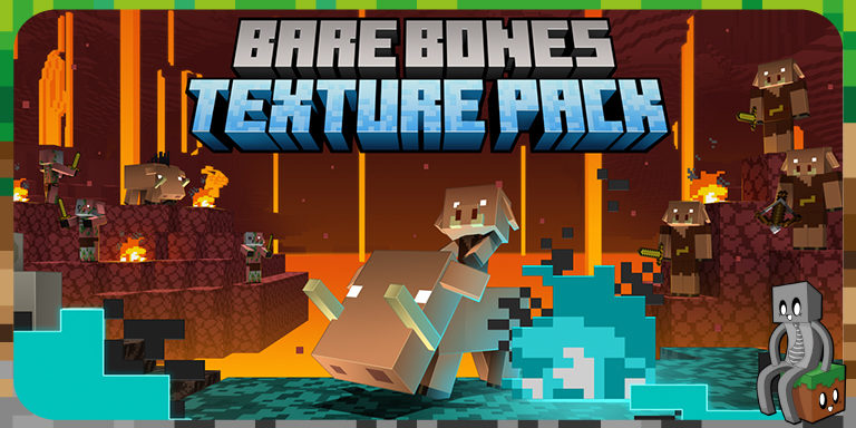 Resource Pack : Bare Bones [1.8 - 1.16]