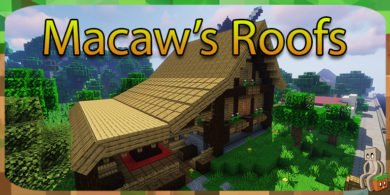 Photo of [Mod] Macaw's Roofs [1.12.2 – 1.14.4]