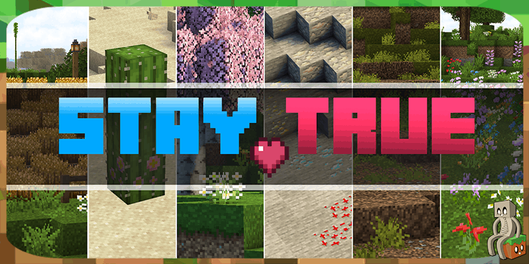 Resource Pack : Stay True [1.14 - 1.15]
