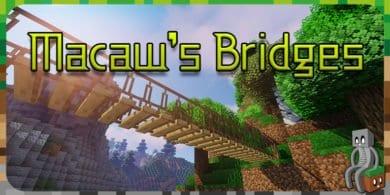 Photo of [Mod] Macaw's Bridges [1.12.2 – 1.15.1]