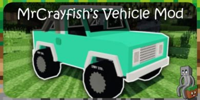 Photo of [Mod] MrCrayfish's Vehicle Mod [1.12.2 – 1.15.2]