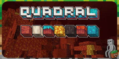 [Resource Pack] Quadral [1.12 – 1.16]