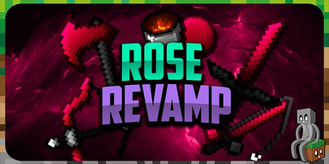 Pack de texture Rose Revamp