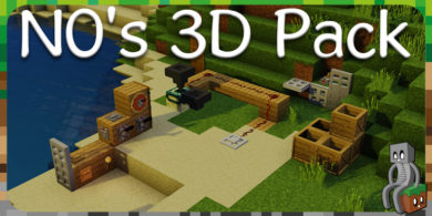 [Resource Pack] N0's 3D Pack [1.13 – 1.16]