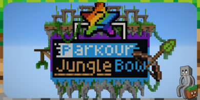 Photo of [Map] Parkour Jungle Bow 2 [1.15.1]