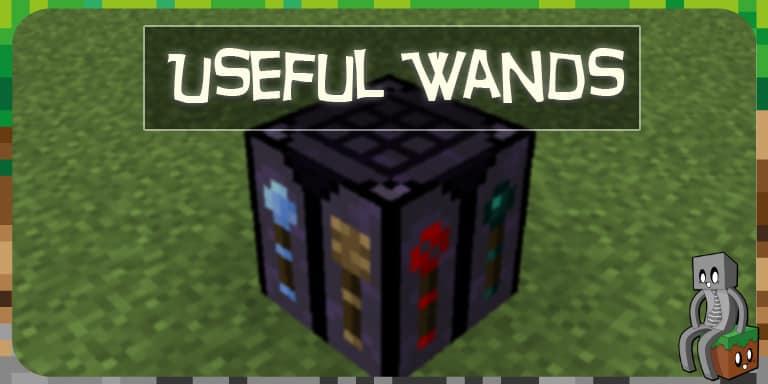 datapack Useful Wand