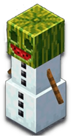 Golem Melon Minecraft Earth