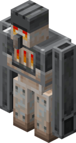 Furnace Golem -Minecraft Earth