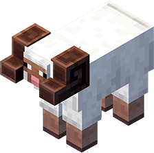 Mouton Cornu Minecraft Earth