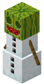 Melon Golem - Minecraft Earth