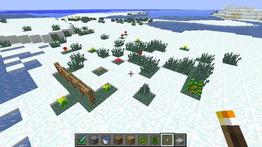 Amélioration de la neige dans Minecraft avec Optifine