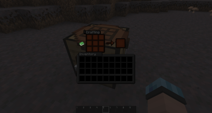 Addon qui rend l'interface de Minecraft sombre pour Ultimacraft