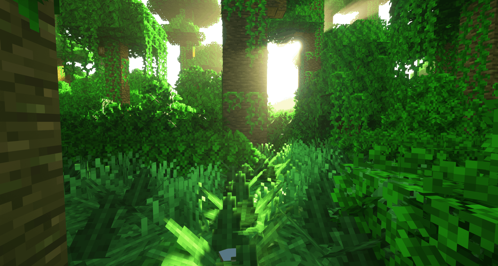 Jungle avec le pack de texture UltimaCraft