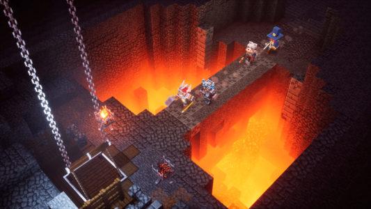 Gameplay Minecraft Dungeons