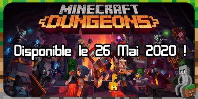 Photo of Annonce de la date de sortie de Minecraft Dungeons et ouverture des précommandes