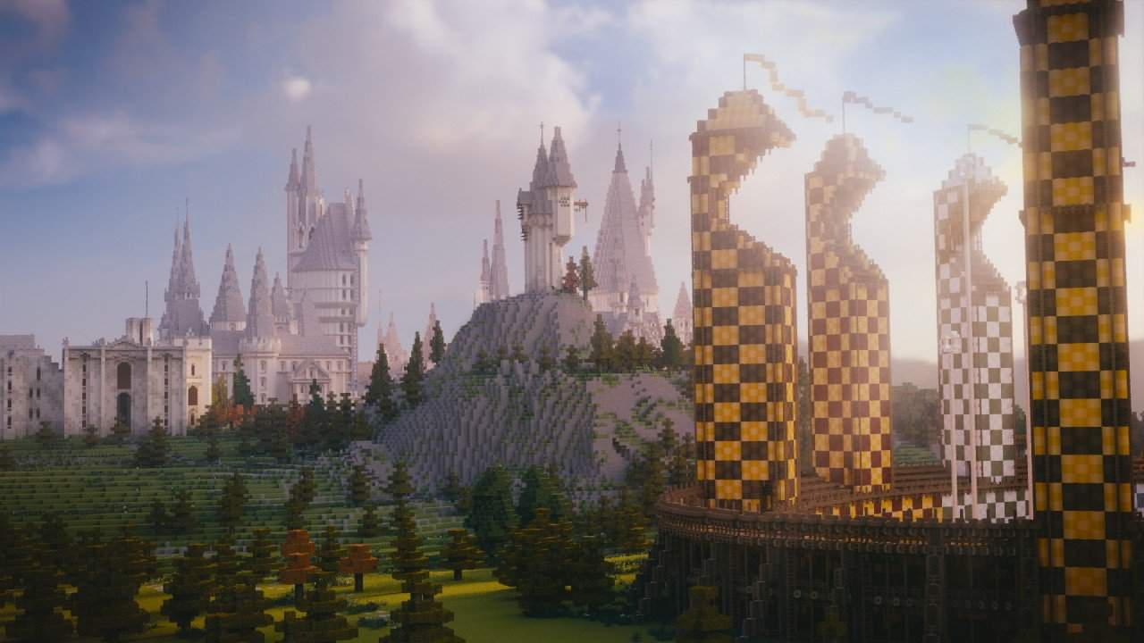 Minecraft School of Witchcraft and Wizardry