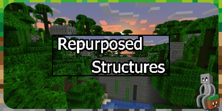 [Mod] Repurposed Structures [1.15.2]