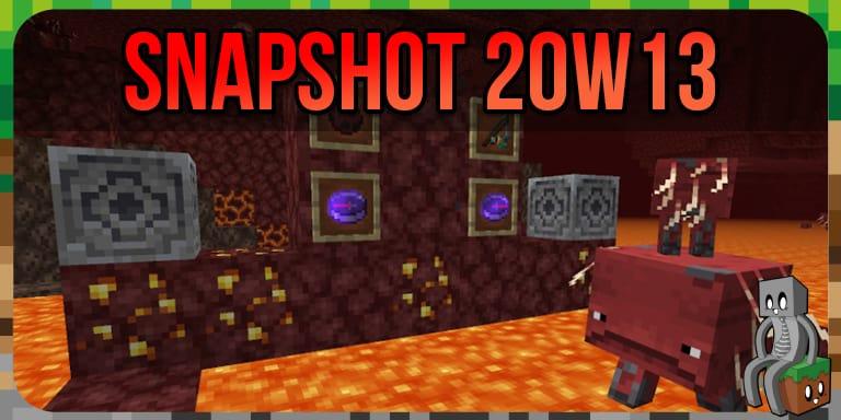 Minecraft Snapshot 20w13