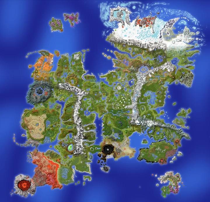 Carte de Drehmal v2 : PRIMΩRDIAL