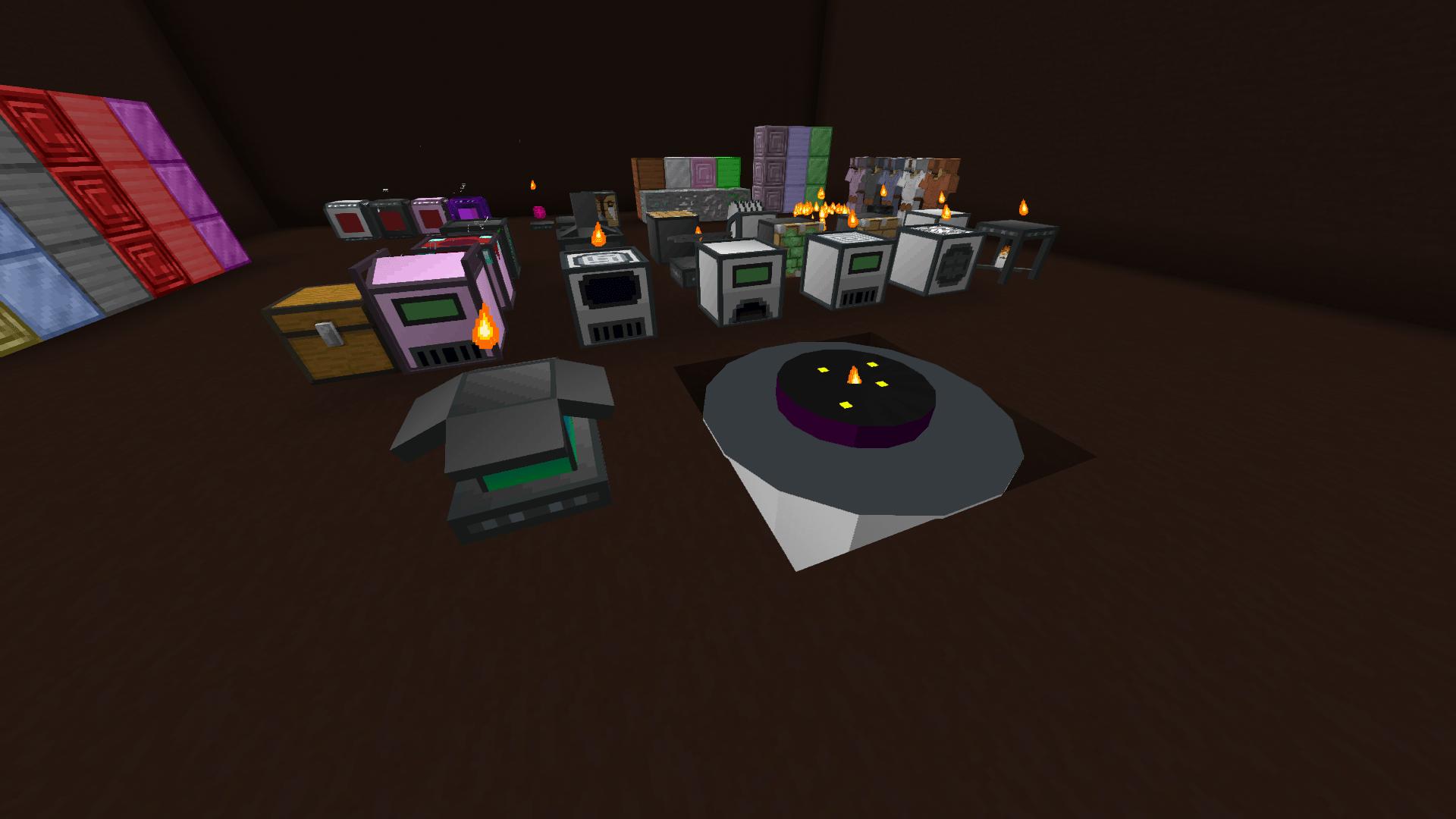 Diverses machines - Mechanization