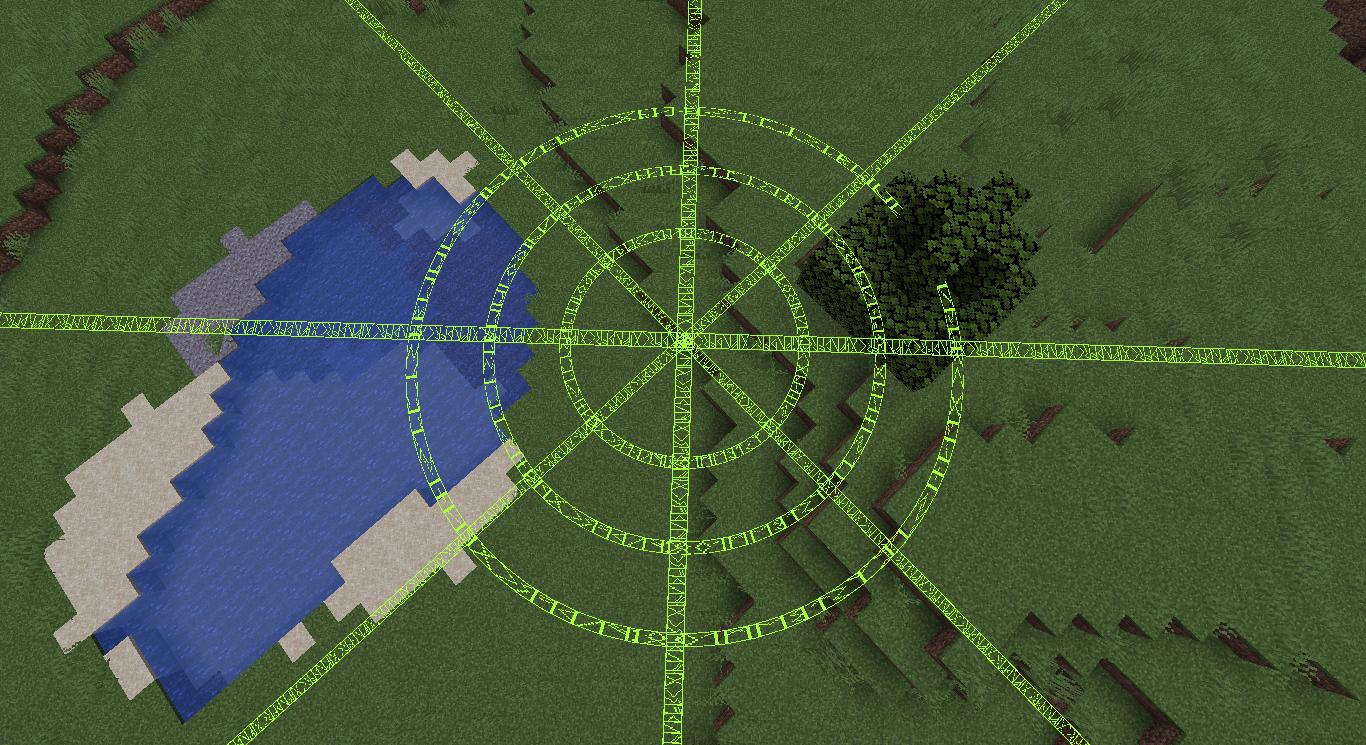 Image montrant un cercle formé de Leylines