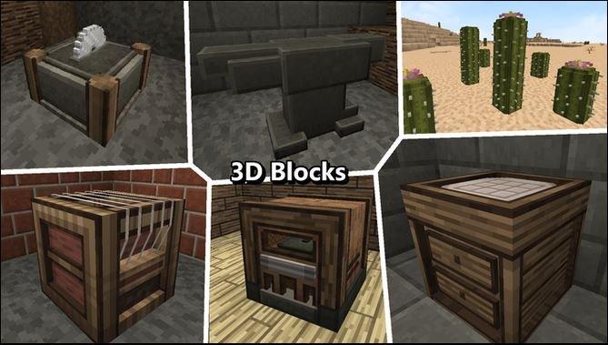 Imperial Odyssey : Blocs 3D