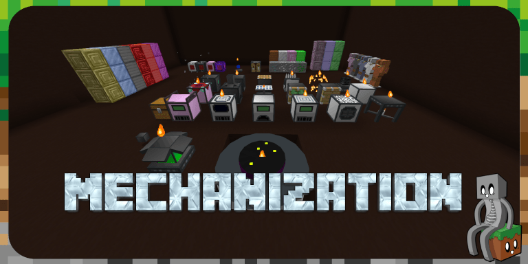 [Datapack] Mechanization [1.15+]