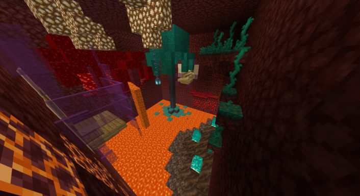 Parkour Nether