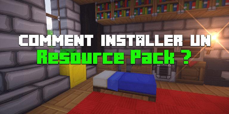 Comment Installer un Resource Pack sur Minecraft ?