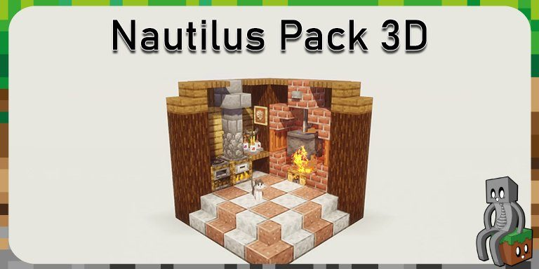 Resource Pack : Nautilus Pack 3D [1.15]