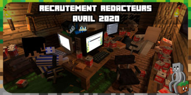 Recrutement session 2020 - Minecraft-France