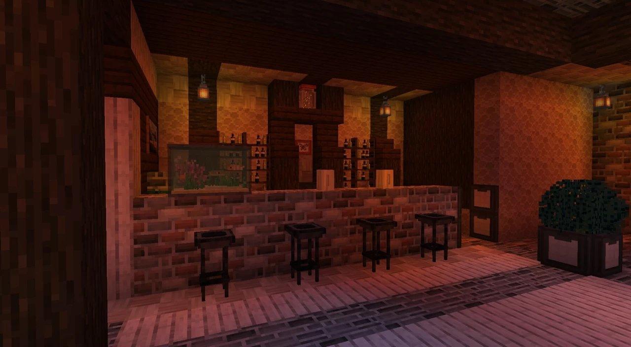 shengling - Un petit bar décoré