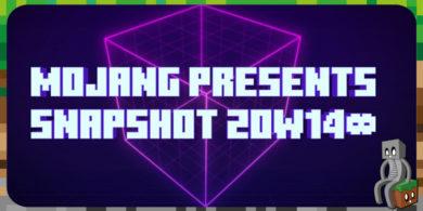 Minecraft 1.16 : Snapshot 20w14∞