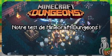Photo of Minecraft Dungeons : découvrez notre test !