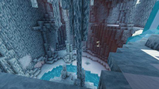 Dôme en neige