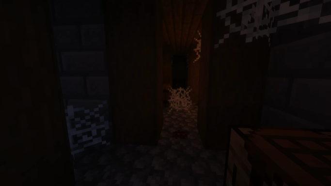 Map King Sigurd's Castle : Une salle avec des toiles d'araignées