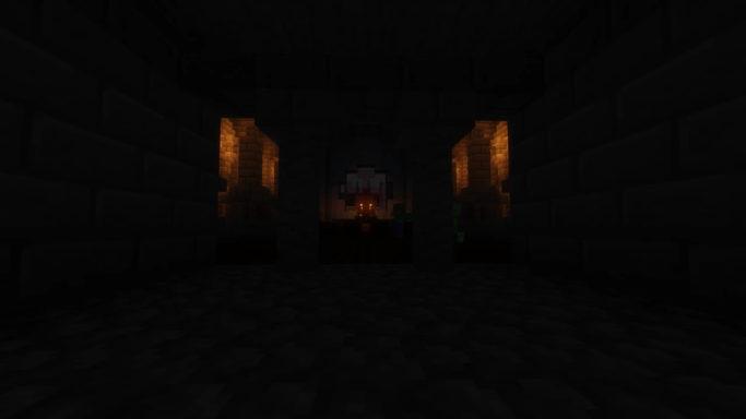 Map King Sigurd's Castle : Une salle sombre du château