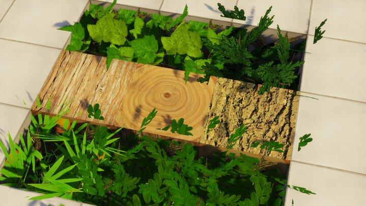 Resource Pack - Pandonis Realistics : Les textures détaillées d'un tronc d'arbre
