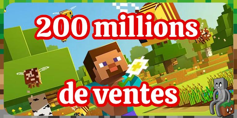 Minecraft dépasse les 200 millions de ventes