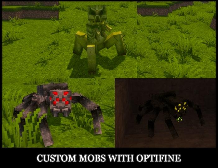 Epic Adventures modèles 3D mobs