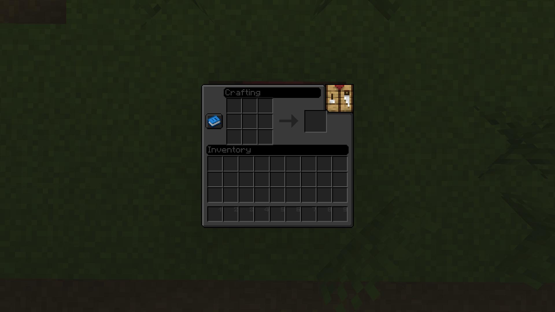 NBTpack - L'interface de Minecraft