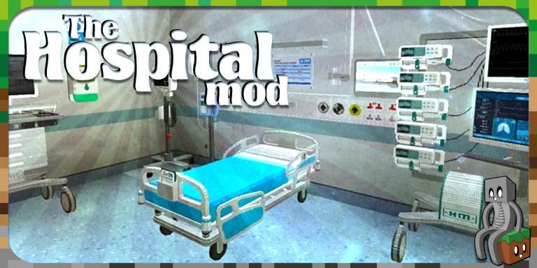 Mod : The Hospital Mod [1.12.2 - 1.15.2]
