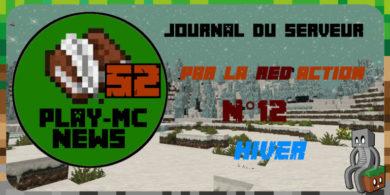 Photo of Play-Mc-News N°12 – Hiver
