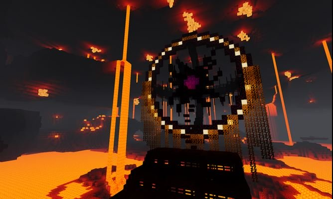 Monument Island 2 : Portail du Nether