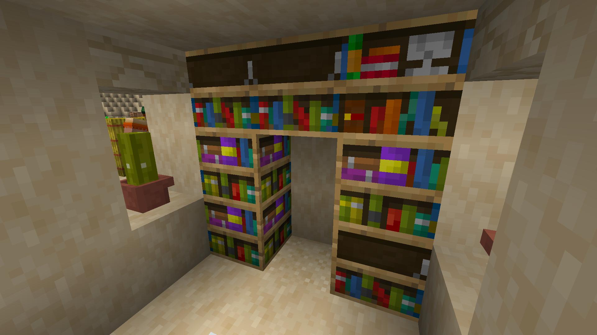 NBTpack - Des bibliothèques avec différentes textures