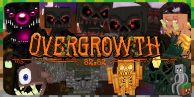 Resource Pack : Overgrowth
