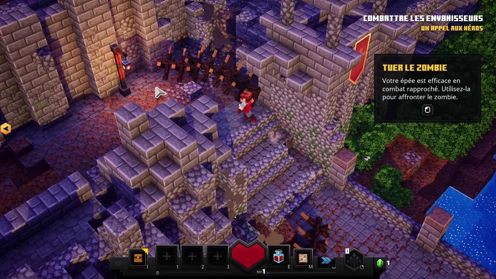 Tutoriel Minecraft Dungeons