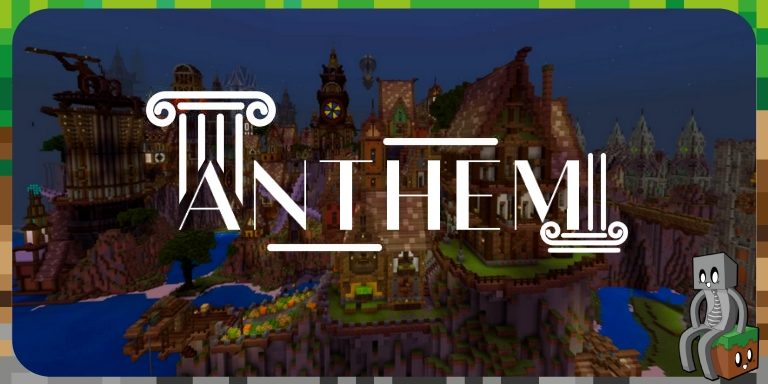 Resource Pack PE Anthem : Une