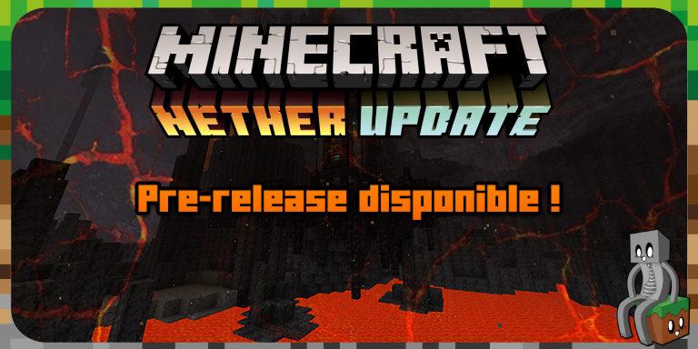 Minecraft Nether Update Pre-release 1.16
