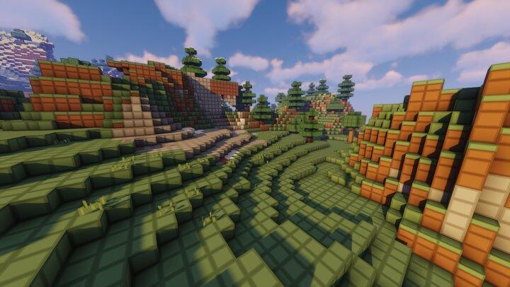Mice Blocks - paysage